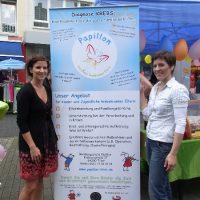Banner Papillon mit Anne und Claudia
