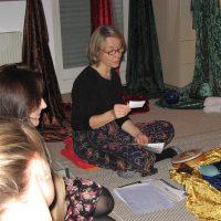 Weihnachtsfeier 2012 Maerchenerzaehlerin Gitta Pelzer