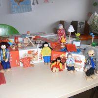 die Puppenhaus-Familie