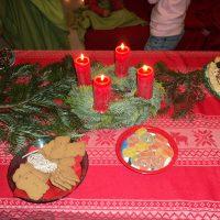 Weihnachtszauber 2013 - geschmueckter Tisch