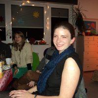 Weihnachtszauber 2013 - ehemalige Mitarbeiterin Edith