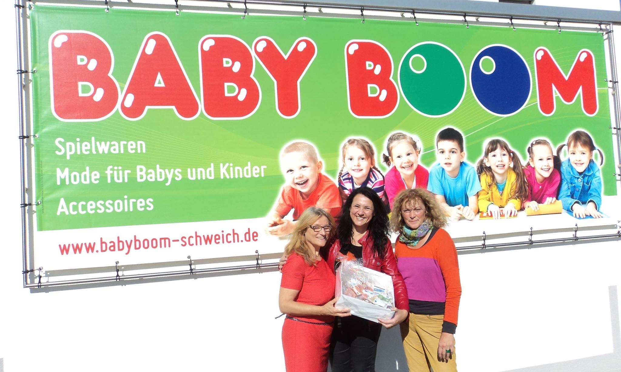 Spendenübergabe Baby Boom 27.09.2015